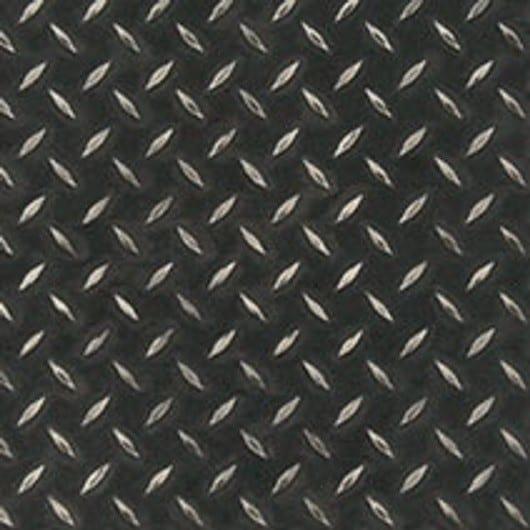 Lvt Stone Abstract Black Treadplate